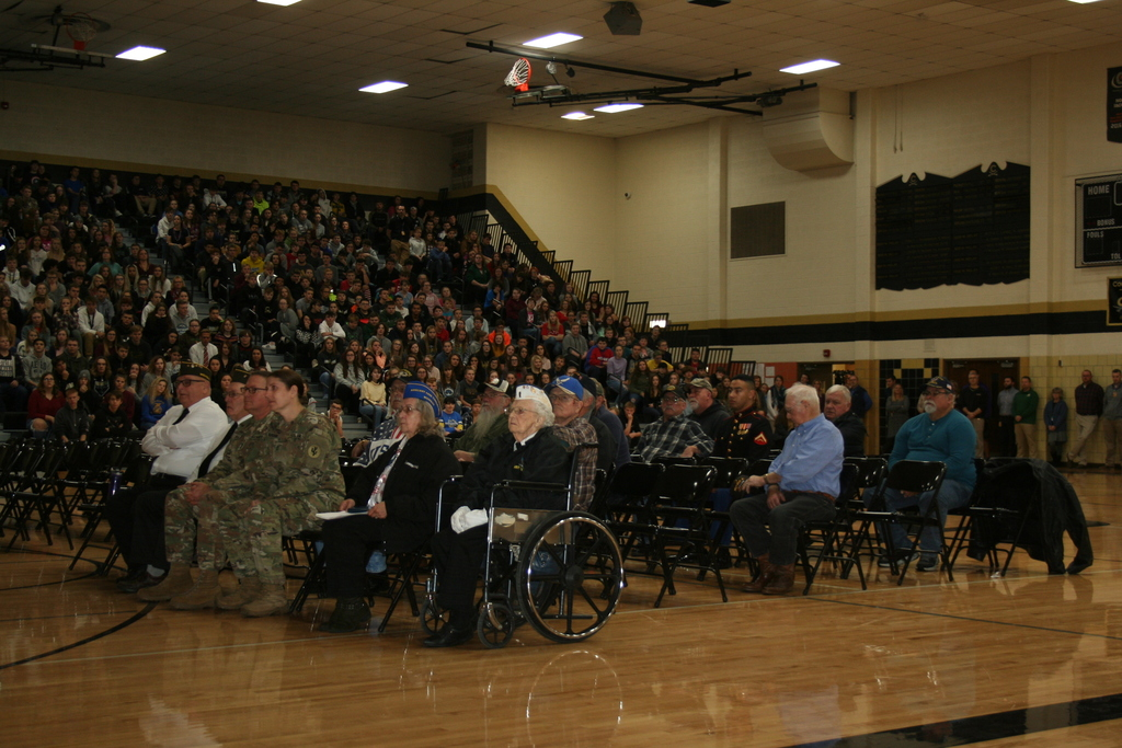 Veterans Honored at CHS