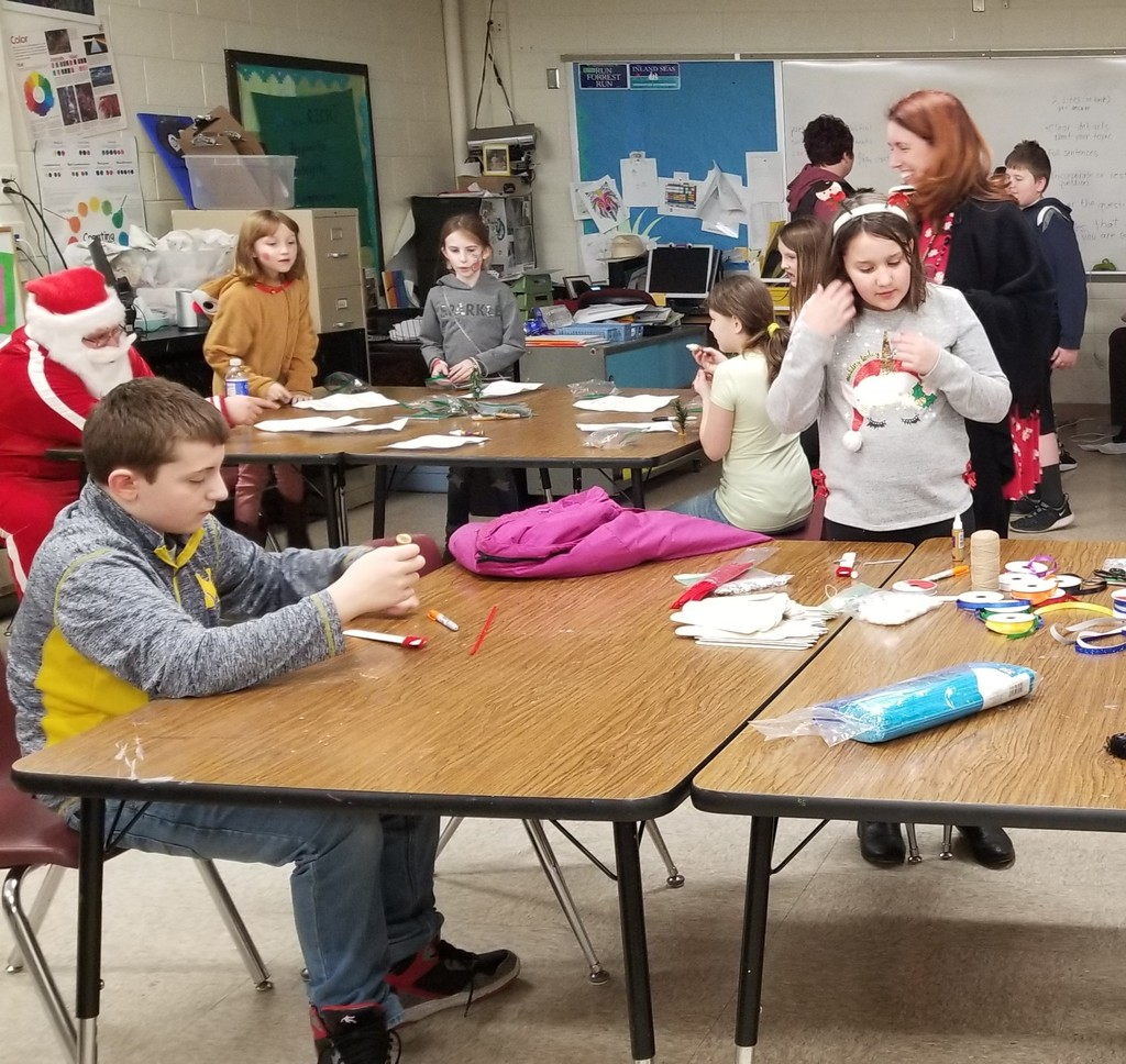 Making Ornaments (Snowmen)