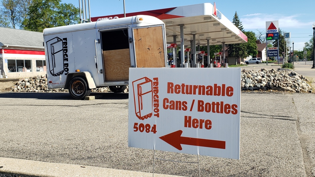 Robotics Can and Bottle Donation Center Picture