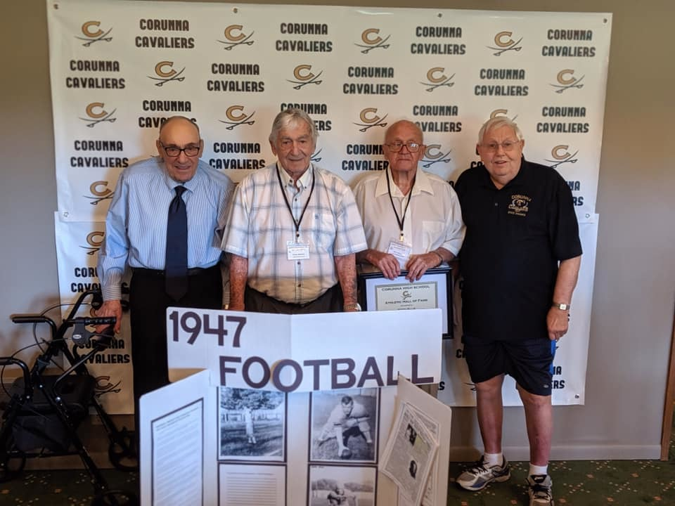 Hall of Fame Inductees - 1947 Football