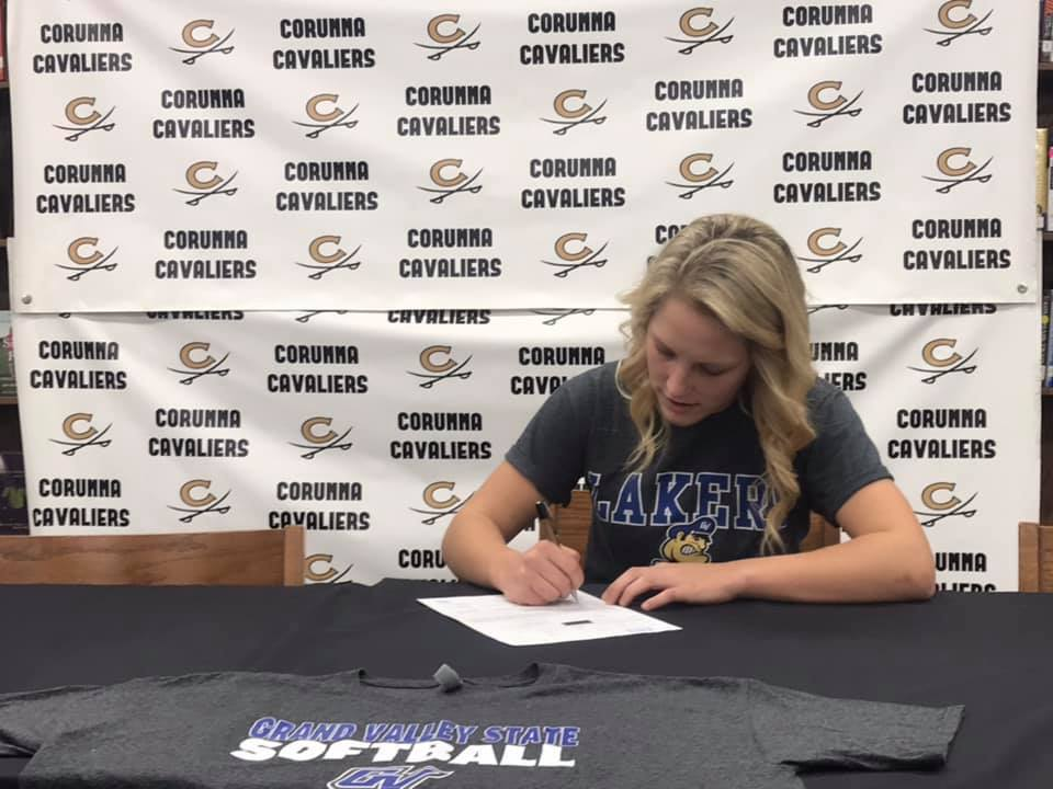 Hannah Hollister Commits to GVSU for Softball
