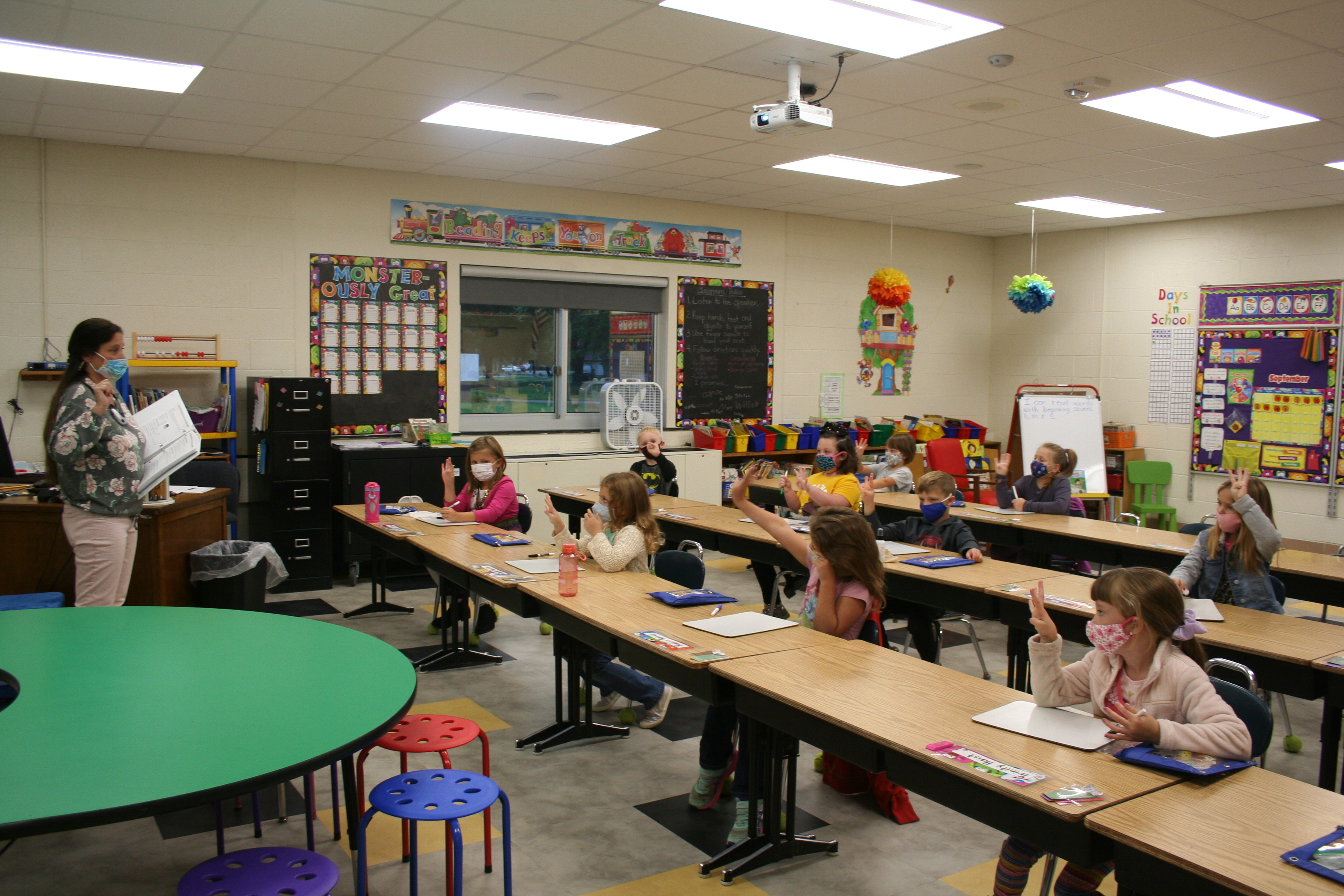 1st Grade Students at Elsa Meyer Elementary
